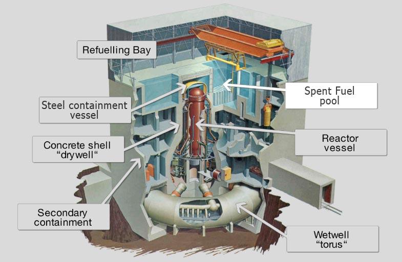 The fukushima event for Pool design reactor