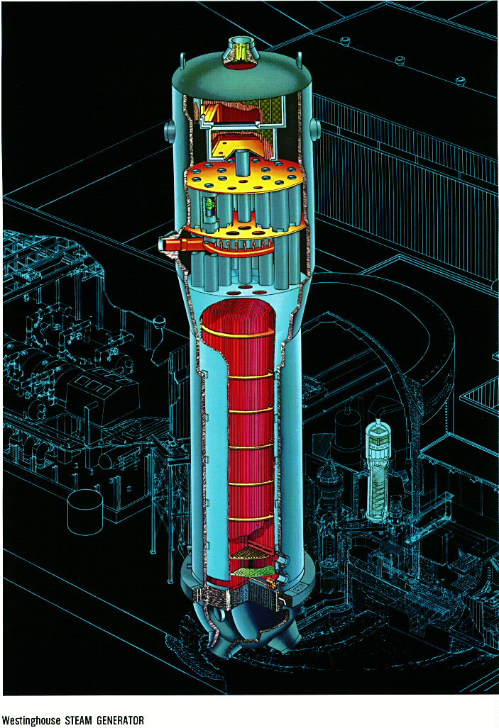 nuclear power plant with diagram pwr cycle  pwr cycle